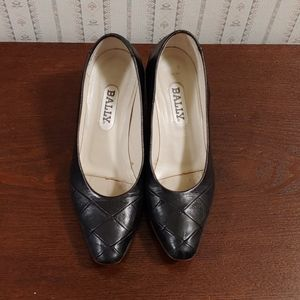 Bally leather shoes size 5 1/2